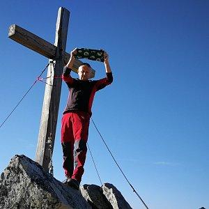 Pepino na vrcholu Predné Solisko (26.10.2019 10:15)