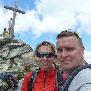 filipka na vrcholu Predné Solisko (15.7.2019 13:40)