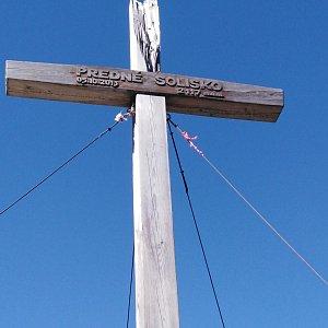 Radek na vrcholu Predné Solisko (1.8.2020 14:38)