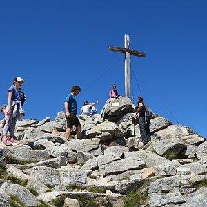 krupjan na vrcholu Predné Solisko (3.7.2019 14:14)