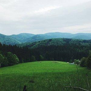 Petra Sikorová na vrcholu Slavíč _ chata (27.5.2019 17:00)