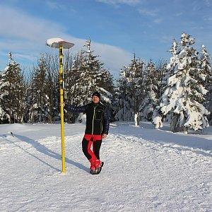 StandaK71 na vrcholu Smrk (3.3.2018 16:23)