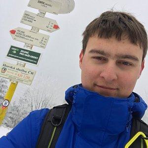 Bronislav na vrcholu Smrk (7.3.2020 12:00)