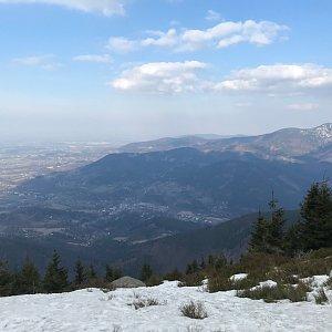 cadic na vrcholu Smrk (18.3.2020 14:45)