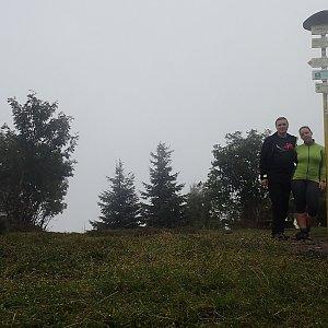 Janča na vrcholu Smrk (15.7.2018 8:59)