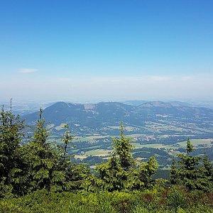 Michal na vrcholu Smrk (10.7.2020 11:59)