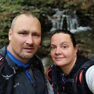 Sandra Blazkova na vrcholu Smrk (7.10.2020 12:31)