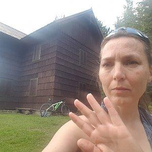 Marcela Kubíčková na vrcholu Smrk (18.6.2021 16:31)