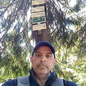 Milan Mižikár na vrcholu Smrk (11.6.2021 12:07)