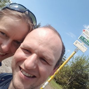 Michaela Karásková na vrcholu Smrk (6.6.2021 15:21)