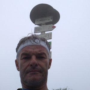 Jaroslav Macura na vrcholu Smrk (18.7.2021 10:26)