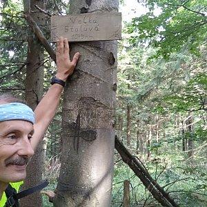 Jiří Sumbal na vrcholu Velká Stolová (18.8.2018 15:16)