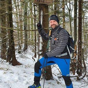 Radoss na vrcholu Velká Stolová (2.1.2021 11:04)