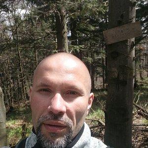 Pavel Krömer na vrcholu Velká Stolová (11.5.2019 12:22)