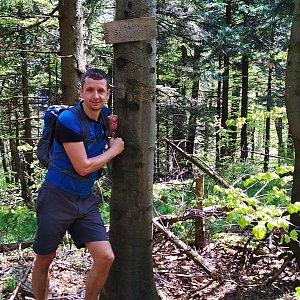 PeteBukař na vrcholu Velká Stolová (25.5.2019 11:00)