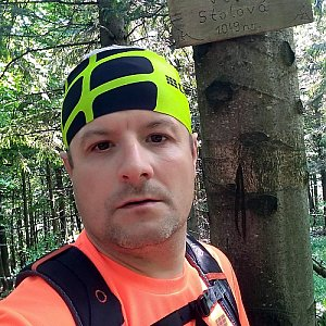 Vítězslav Vrána na vrcholu Velká Stolová (9.6.2019 11:52)