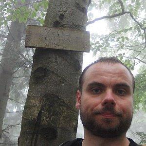 Jiří Chmiel na vrcholu Velká Stolová (22.6.2019 10:23)