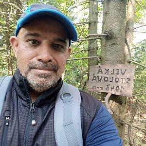 Milan Mižikár na vrcholu Velká Stolová (15.9.2021 12:59)
