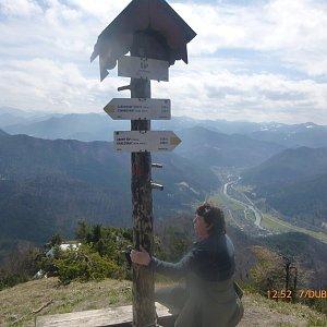 Pepino na vrcholu Šíp  (7.4.2019 11:00)
