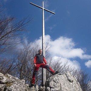 Pepino na vrcholu Zadní Šíp  (7.4.2019 10:00)