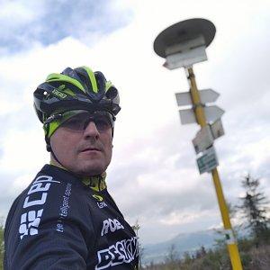 Vítězslav Vrána na vrcholu Malý Javorník (3.5.2020 17:11)