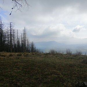 Jan Macháček na vrcholu Malý Javorník (29.4.2021 9:58)