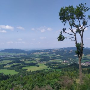 ŠenovKK na vrcholu Stanovec (19.7.2021 12:40)