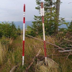 Gregořicovi na vrcholu Stanovec (31.7.2021 7:51)