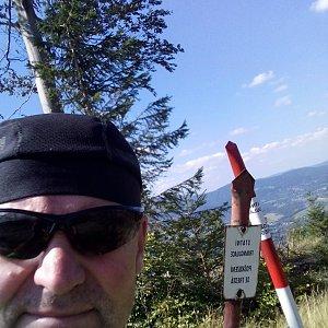 Li Be na vrcholu Stanovec (8.9.2021 13:18)