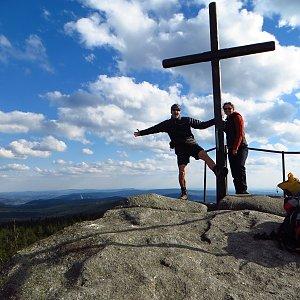 Iveta Válová na vrcholu Jizera (2.5.2015 16:24)