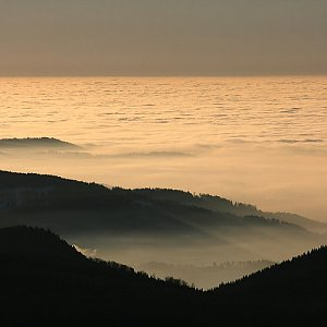 Bouřka na vrcholu Jizera (31.12.2016 8:04)