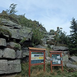 Manjula na vrcholu Jizera (5.9.2020 10:57)