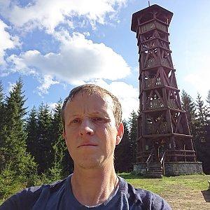 Lukáš Žídek na vrcholu Miloňová (11.9.2019 9:38)