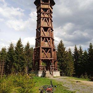 Honza na vrcholu Miloňová (9.5.2020 15:51)