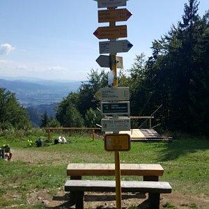 Arni na vrcholu Ostrý (4.9.2019 10:00)