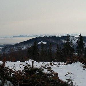 Anna na vrcholu Ostrý (26.1.2020 16:28)
