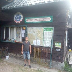 Bartek_na_cestach na vrcholu Ostrý (23.5.2020 8:08)