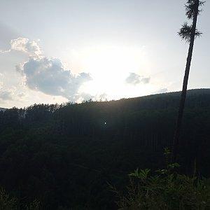 Baru na vrcholu Ostrý (8.7.2021 19:30)