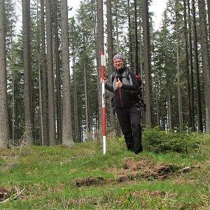 Michal Kříž na vrcholu Výška (22.5.2021 12:00)