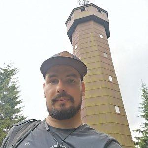 Dajik90 na vrcholu Čarták (8.6.2019 13:00)