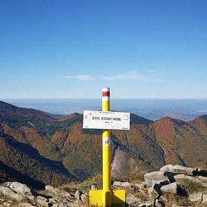 Pepino na vrcholu Steny, severný vrchol (13.10.2019 11:03)