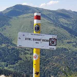 p_e_t_r_95 na vrcholu Steny, severný vrchol (8.8.2020)