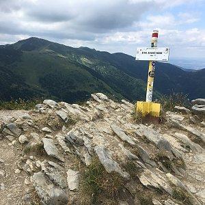 Jarek na vrcholu Steny, severný vrchol (8.7.2019 12:05)