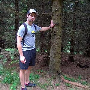 Jack Skurello na vrcholu Zmrzlý vrch (16.6.2018 15:05)