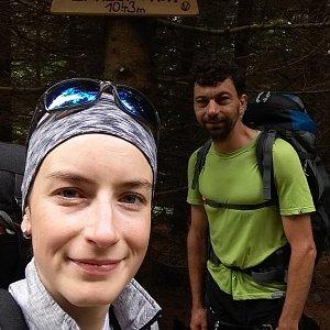 Babunka159 na vrcholu Zmrzlý vrch (18.6.2018 14:35)