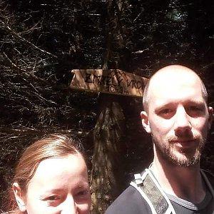 Paja&Tom na vrcholu Zmrzlý vrch (15.7.2018 11:30)