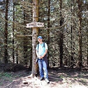 David Dudzik na vrcholu Zmrzlý vrch (13.6.2020 12:32)