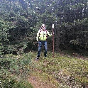 Jaroslav Hrabuška na vrcholu Lyra (30.5.2021 13:40)