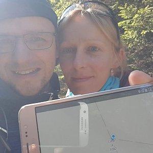 Michaela Karásková na vrcholu Lyra (10.10.2021 10:56)
