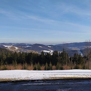 Petr h_vipet na vrcholu Surový vrch (Kaple sv. Huberta) (20.2.2021 13:50)
